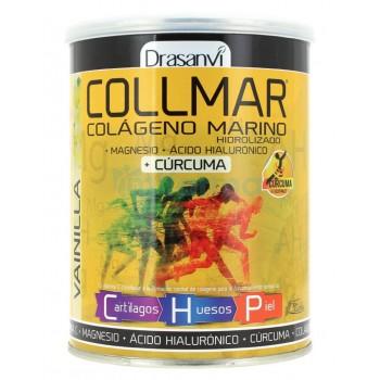 Collmar Colágeno Marino Hidrolizado + Magnesio + Ácido Hialurónico + Cúcuma 300 gr