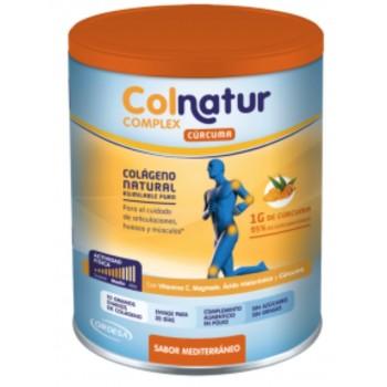 Colnatur Complex Colágeno Natural + Cúrcuma + Magnesio + Vitamina C + Ácido Hialurónico 250 gramos Sabor Mediterráneo
