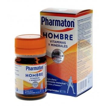 Pharmaton Hombre 12 Vitaminas 6 Minerales 30 Comprimidos