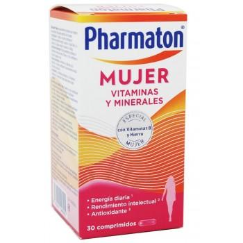 Pharmaton Mujer 12 Vitaminas 6 Minerales 30 Comprimidos