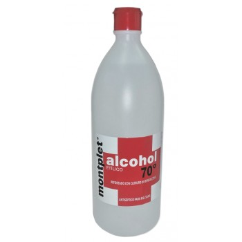 MONPLET ALCOHOL 70º 1000 ML