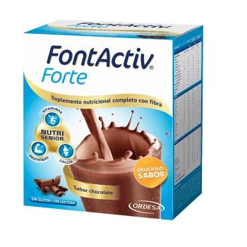 Fontactiv Forte Sabor Chocolate Con Fibra 420g 14 Sobres de 30g