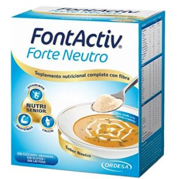 Fontactiv Forte Sabor Neutro Con Fibra 300g 10 sobres de 30g