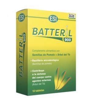 Batteril 900 Complemento Alimenticio con Semillas de Pomelo y Árbol de Té 10 Tabletas