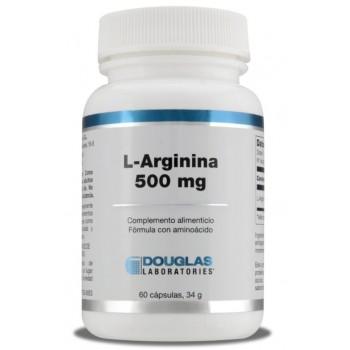 L-Arginina 500mg 60 Cápsulas 34g
