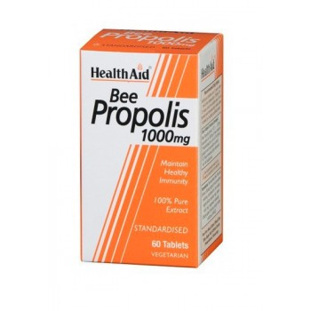 Bee Propolis 1000mg 60 Tabletas Vegetarian