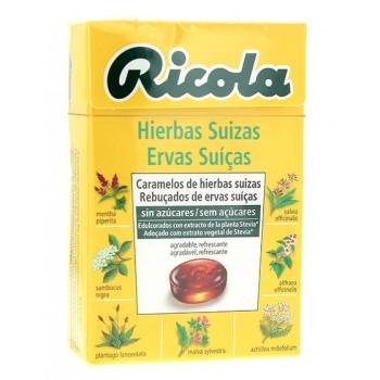 Ricola Caramelos de Hierbas Suizas Sin Azúcares 50g