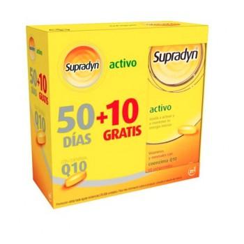 Supradyn Activo Con Coenzima Q10 50 Comprimidos + 10 Comprimidos Gratis