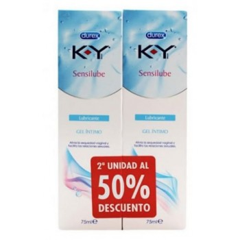 Durex Sensilube KY Gel Lubricante Íntimo 2x75 ml