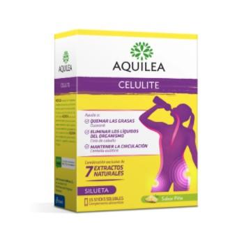 Aquilea Celulite 7 Extractos Naturales 15 Sticks Solubles Sabor a Piña