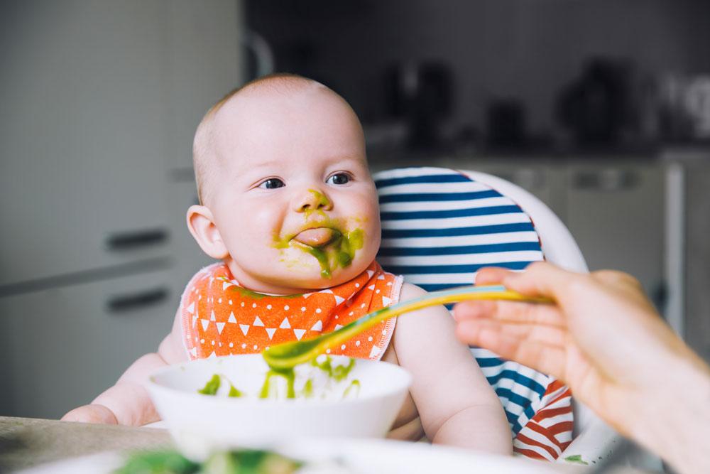 ▷ Alimentación complementaria para bebés - Farmaten