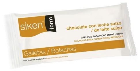 Siken galleta chocolate con leche 25 g
