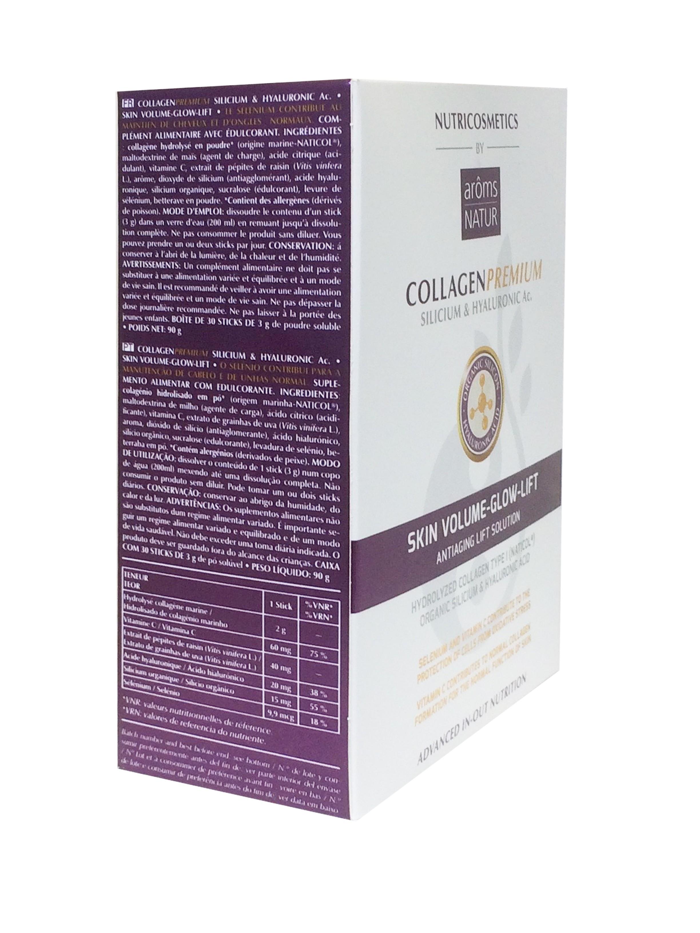 Arôms Natur Collagen Premium 30 Sticks