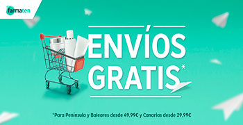Envío gratis farmacia online Farmaten